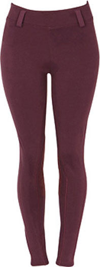 Stickyseat Euroseat Tights in Burgundy by Stickyseat