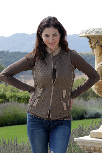Quilted Vest by Goode Rider