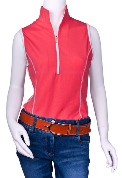 Ideal Show Tank in Guava by Goode Rider