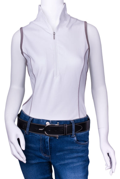 Ideal Show Tank in White by Goode Rider