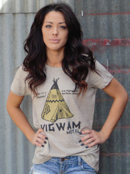 Wigwam Tee Shirt by Original Cowgirl Clothing Co.