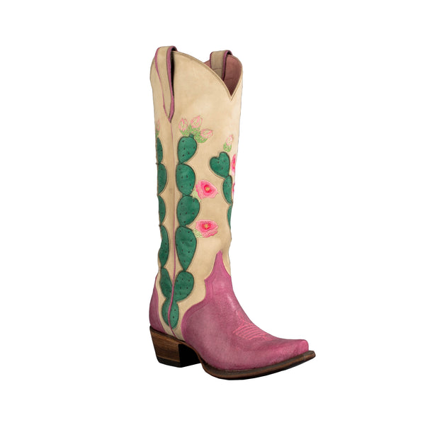 Hard to Handle Cowboy Boot in Pink by Junk Gypsy Co.