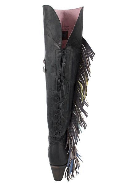 Spirit Animal Cowboy Boot in Black by Junk Gypsy Co.