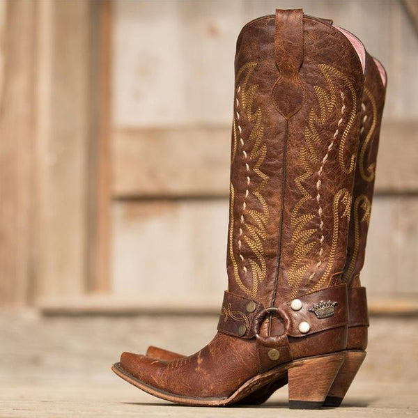 sale retailer f0bd2 94414 Vagabond Cowboy Boot in Mocha (by Lane Boots for Junk Gypsy Co.)