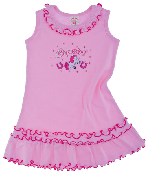 Toddler's Cowgirl Dress by Kiddie Korral