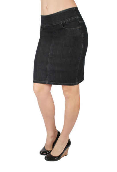 Pencil Denim Skirt by Ethyl Denim