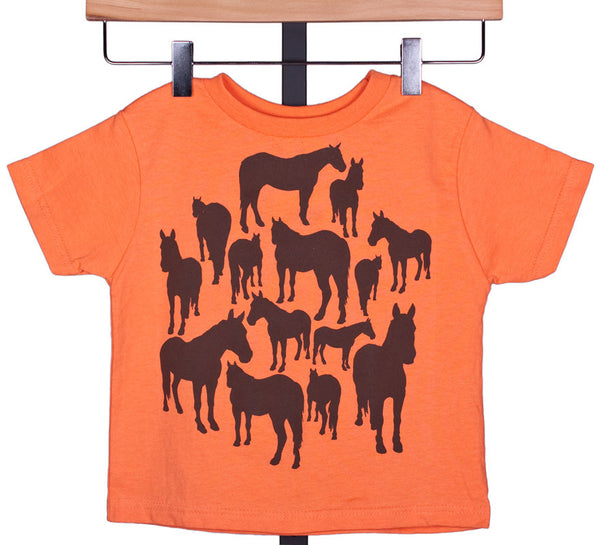 A-Team Toddler Tee Shirt by Wyo Horse