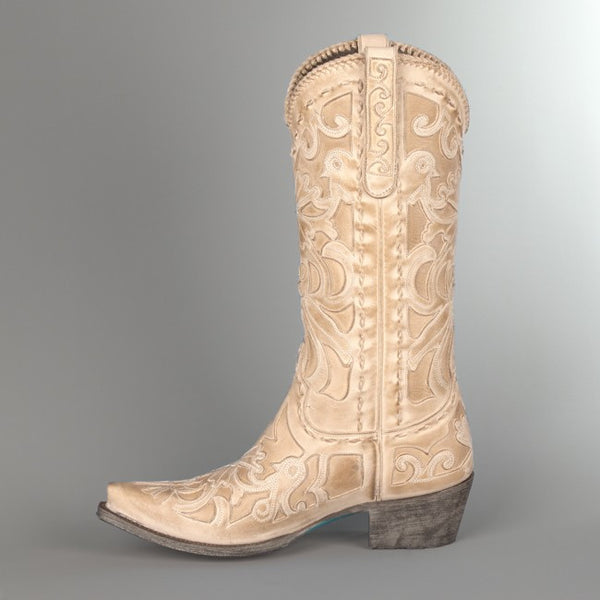 f64076ef4ac6f Robin Cowboy Boot in Bone (by Lane Boots) - Canyon Creek Saddlery ...