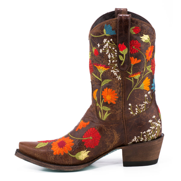 Flower Power Cowboy Boot by Lane Boots