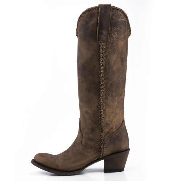 Plain Jane Cowboy Boot in Brown by Lane Boots