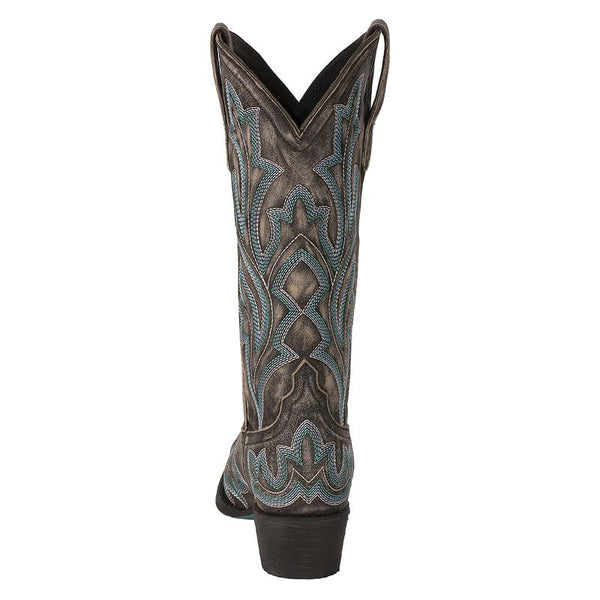 Saratoga Cowboy Boot in Ashwood by Lane Boots