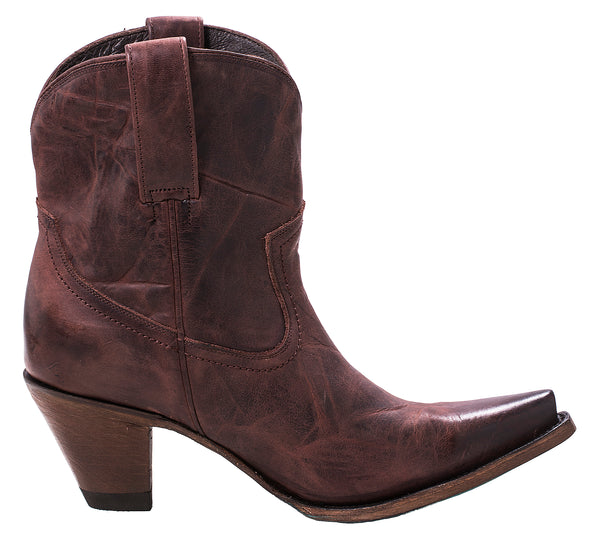 Julia Shortie Cowboy Boot in Brown by Lane Boots