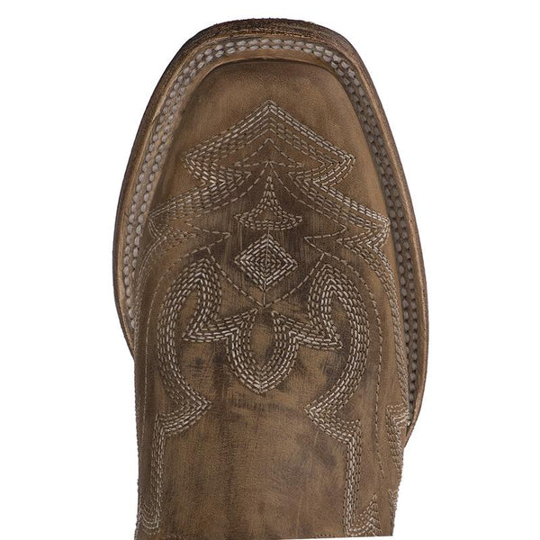 Saratoga Square Toe Cowboy Boot in Caramel by Lane Boots