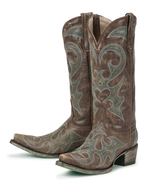 Love Sick Cowboy Boot in Brown by Lane Boots