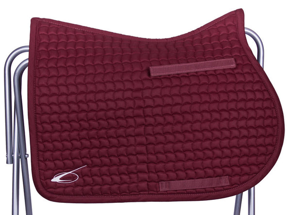 Diamant All Purpose Saddle Pad in Burgundy by Lami-Cell