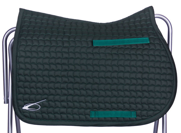 Diamant All Purpose Saddle Pad in Hunter by Lami-Cell