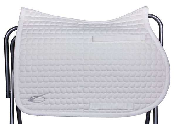 Diamant All Purpose Saddle Pad in White by Lami-Cell