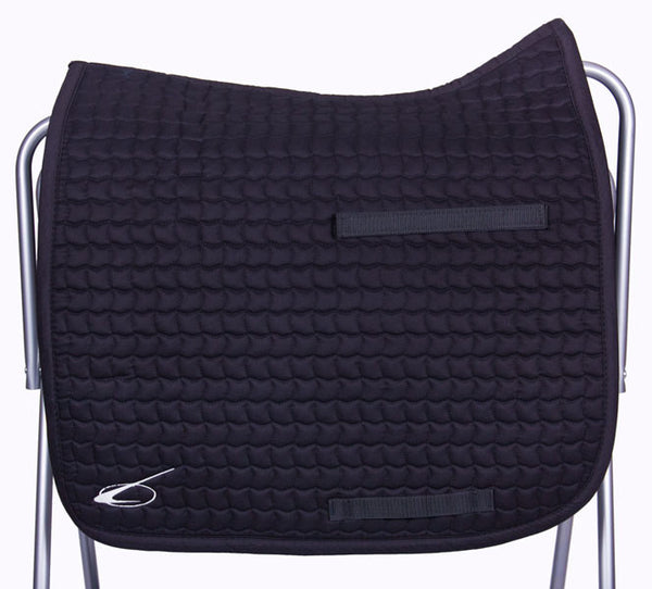 Diamant Dressage Saddle Pad in Black by Lami-Cell