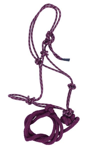 Mountain Rope Halter in Burgundy by Lami-Cell