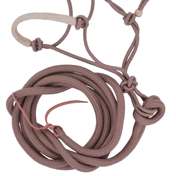Natural Rope Halter in Tan by Lami-Cell