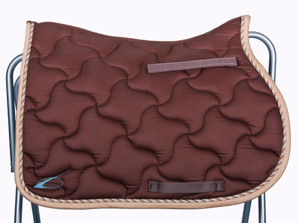 New Wave All Purpose Saddle Pad in Chocolate by Lami-Cell