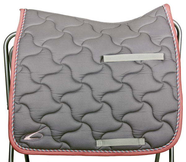 New Wave Dressage Saddle Pad in Grey by Lami-Cell