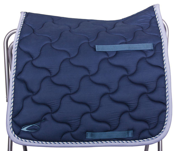 New Wave Dressage Saddle Pad in Navy by Lami-Cell