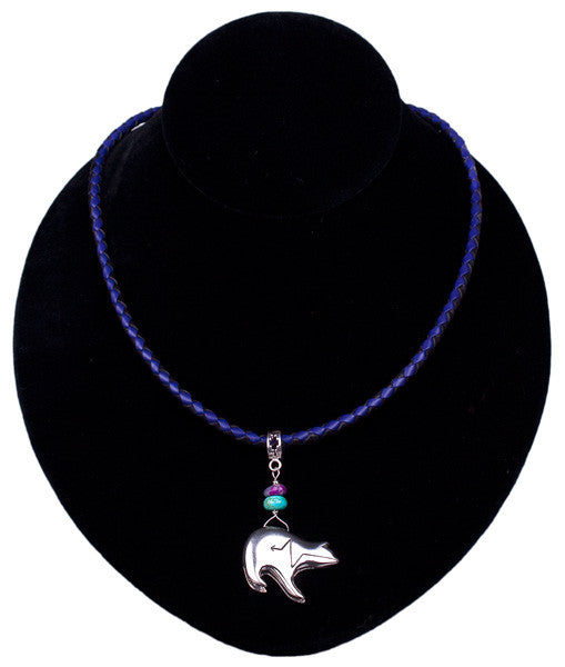Spirit Bear Necklace by Laura Ingalls Designs