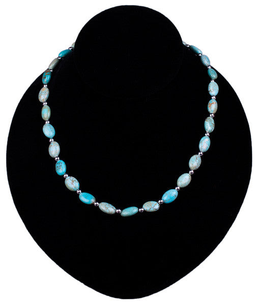 Robin's Egg Turquoise Necklace by Laura Ingalls Designs