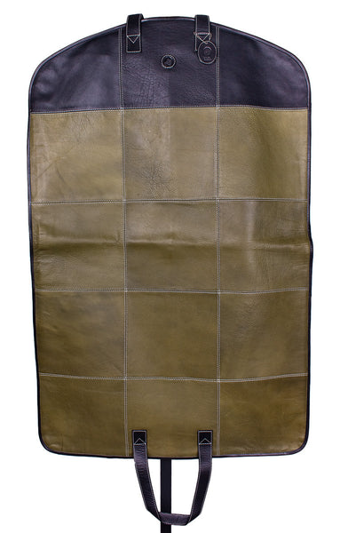 Hamptons Garment Bag in Green by Lilo Collections