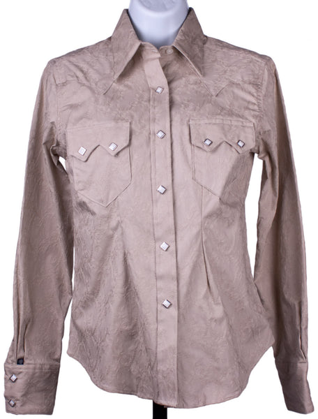 Tone-on-Tone Embroidered Western Shirt by Rockmount Ranch Wear