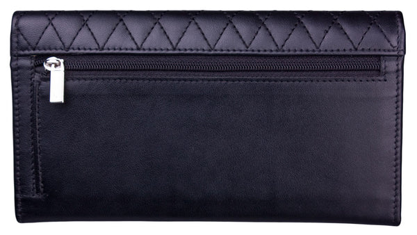 Parisian Checkbook Wallet by Lilo Collections