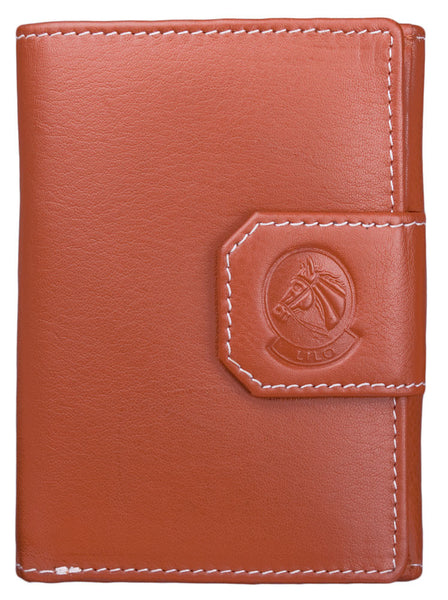 Lilo Compact Trifold Leather Wallet by Lilo Collections