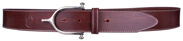 Inglesa Spur Belt in Antique Brown by Lilo Collections