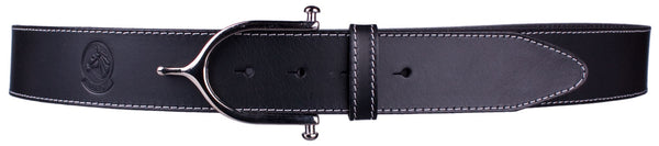 Inglesa Spur Belt in Black by Lilo Collections