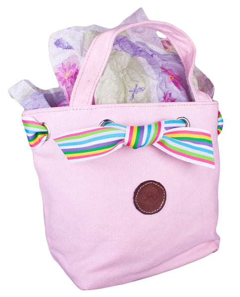Bermuda Baby Bucket Handbag in Baby Pink by Lilo Collections