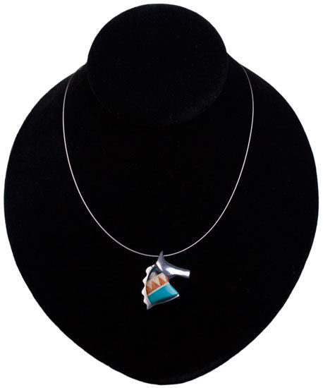 Rio Necklace in Navajo Blue by Lilo Collections