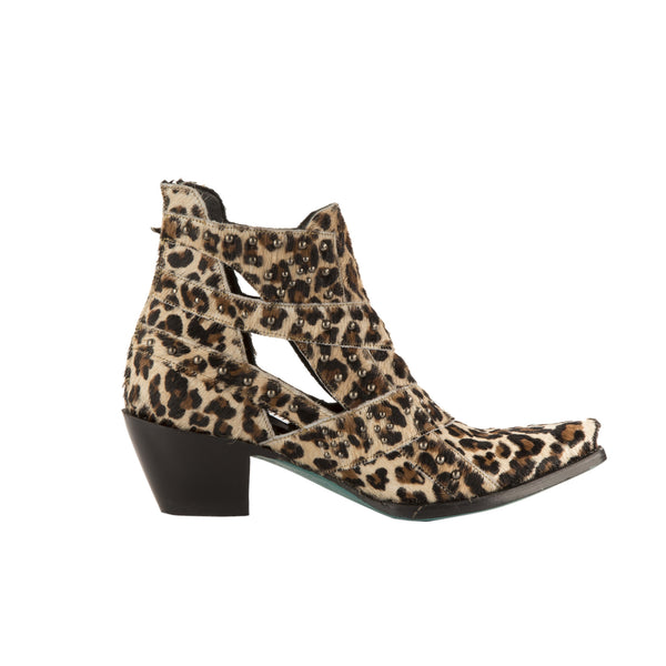 Studs & Straps Cowboy Boot in Cheetah by Lane Boots