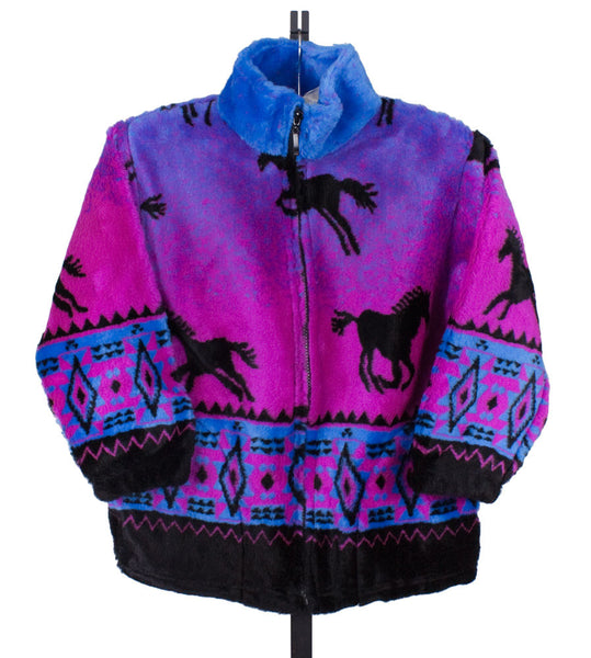 Fuschia Horse Jacket by Mazmania