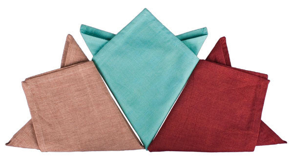 Chambray Napkins by New World Trading