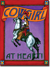 Note Cards - Cowgirl at Heart by Wild West Company