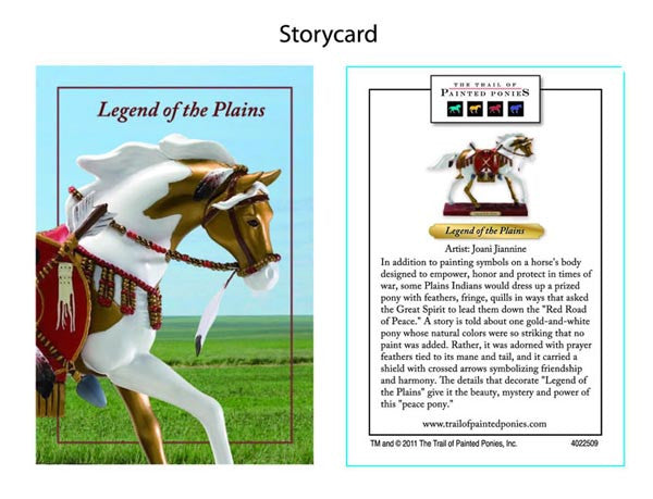 Legend of the Plains by Trail of Painted Ponies