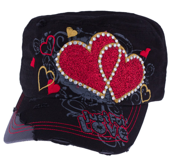 Hearts Have It! Cap by Red Barn Ranch