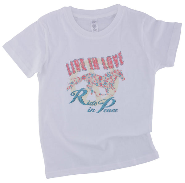 Live in Love Tee Shirt by Original Cowgirl Clothing Co.