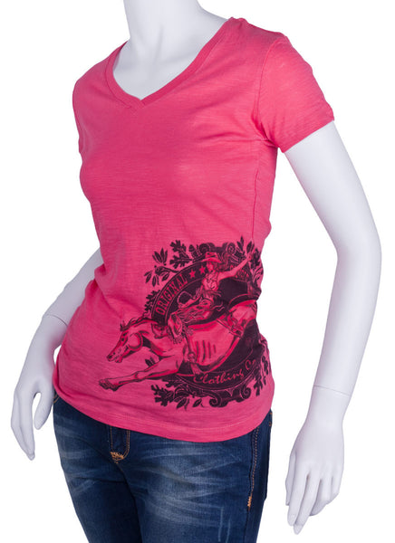 Ride 'Em Cowgirl Tee Shirt by Original Cowgirl Clothing Co.