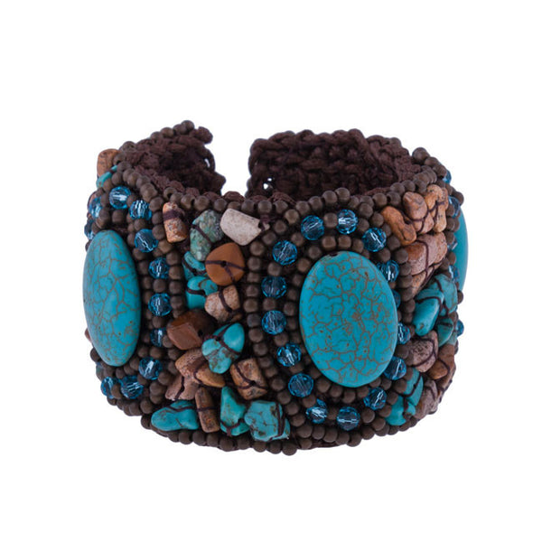 Samantha Cuff Bracelet by Red Barn Ranch