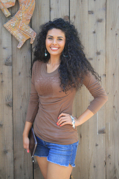 Harvest Tee Shirt by Original Cowgirl Clothing Co.
