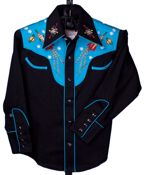 Atomic Cowboy Shirt by Rockmount Ranch Wear