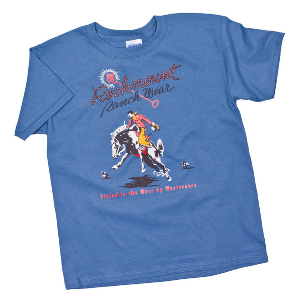 Kids' Vintage Bronc Tee by Rockmount Ranch Wear
