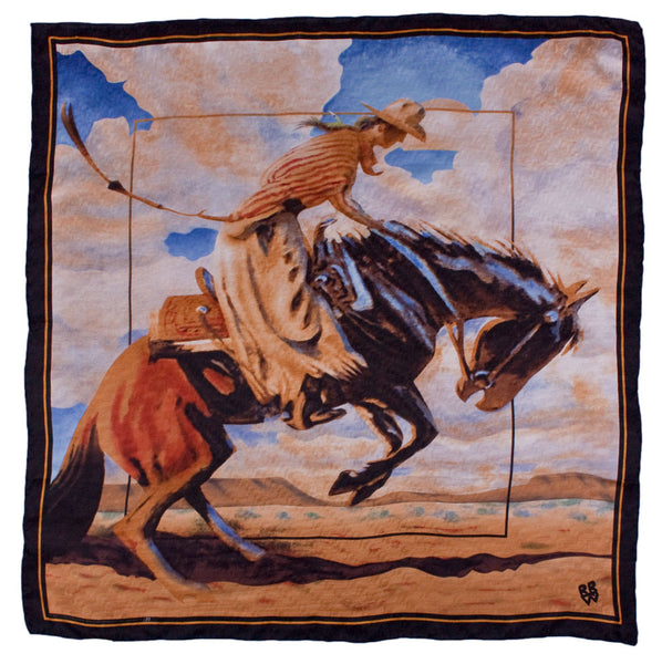 Let 'er Buck Scarf by Rockmount Ranch Wear